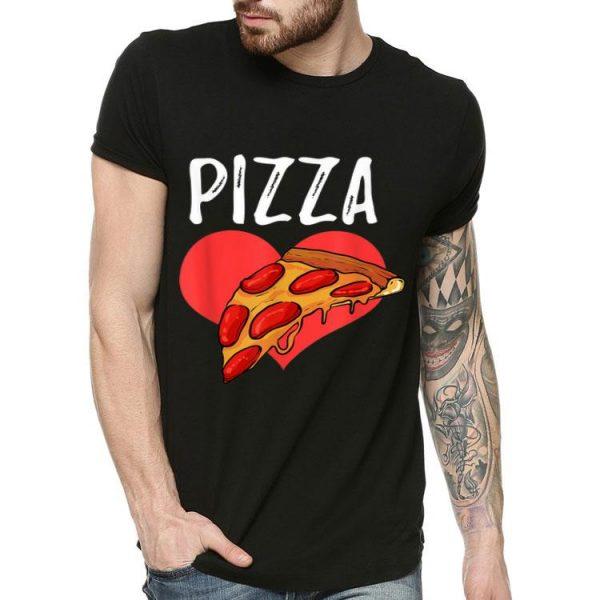 Pizza Heart Italian Valentine shirt