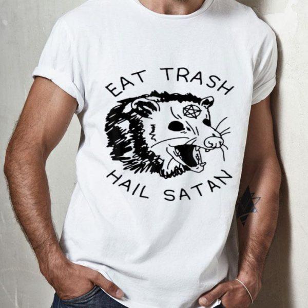 Possum Eat Trash Hail Satan shirt