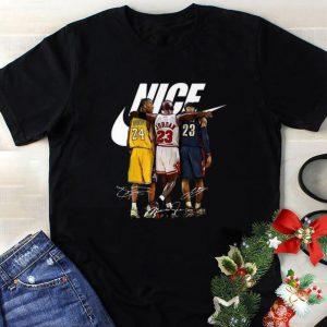 Awesome Nike Nice Rip Kobe Bryant signatures Michael Jordan LeBron James shirt