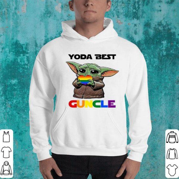 Baby Yoda Lgbt Best Guncle shirt