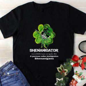 Cheap Jack Skellington Shenanigator a person who instigates St Patrick shirt