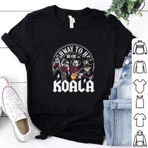 Cheap Koala mashup ACDC ft. Highway to hell shirt