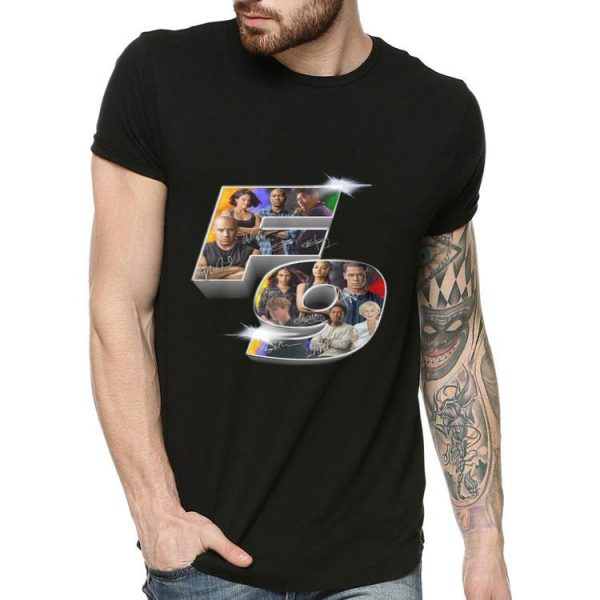 Fast And Furious FAST9 Signatures shirt