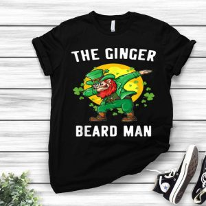 Ginger Beard Man St. Patrick's Irish Dabbing Leprechaun shirt
