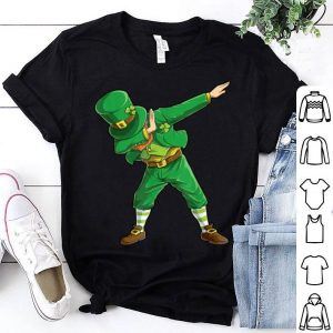Great St Patricks Day Dabbing Leprechaun Boys Kids Men Gifts Dab shirt