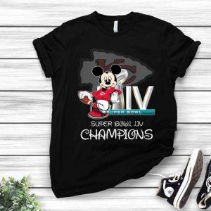 Mickey Mouse Kansas City Chiefs Super Bowl LIV Champions shirt