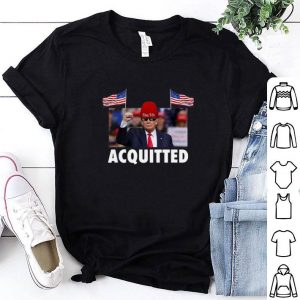Premium President Trump Acquitted Victory shirt