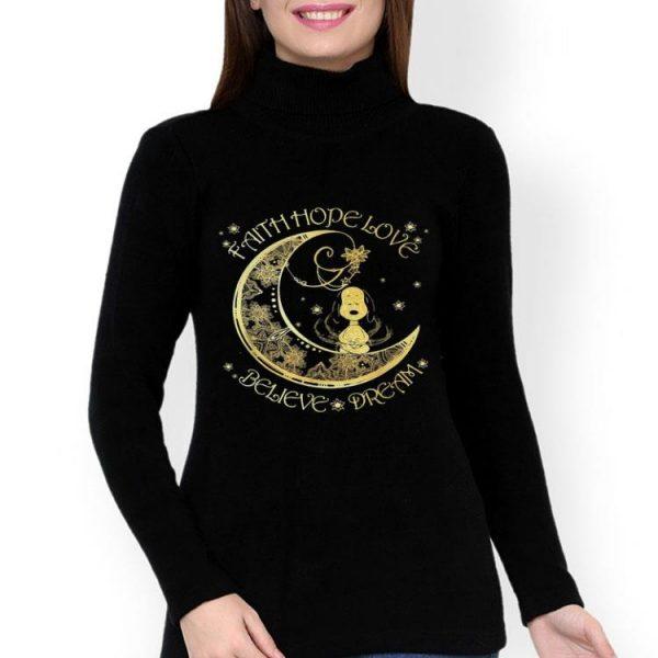 Snoopy Faith Hope Love Believe Dream shirt