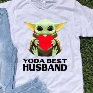 Star Wars Baby Yoda Best Husband Valentine's Day shirt