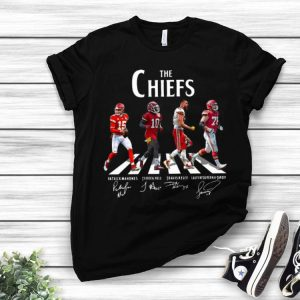 The Chiefs Patrick Mahomes Tyreek Hill Travis Kelce Signature shirt