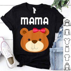 Awesome Mama Bear Papa Bear Matching Family Mom Dad Cute Gift shirt