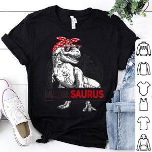 Awesome Mamasaurus T Rex Dinosaur Funny Mama Saurus Family Matching shirt