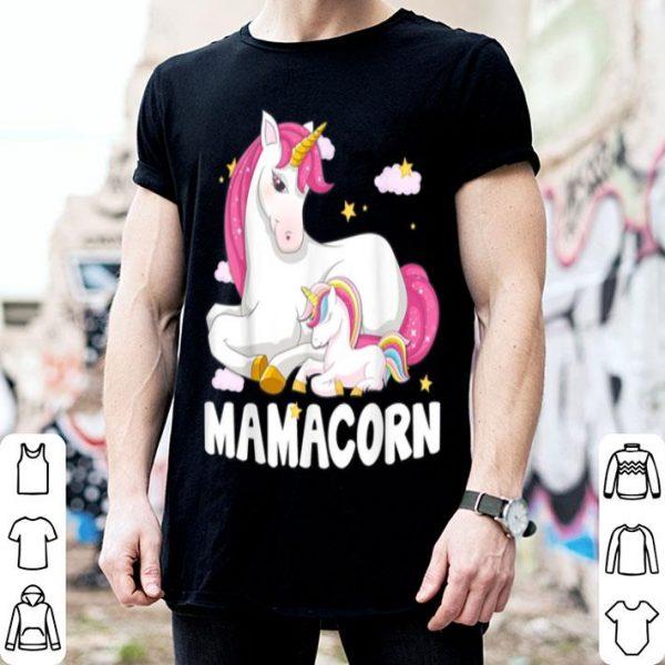 Awesome Nice Mamacorn Unicorn New Mom Baby Mommy Mother Gift shirt