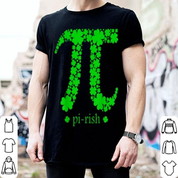 Awesome Pi-rish Funny Pi Day, St Patrick's Day shirt