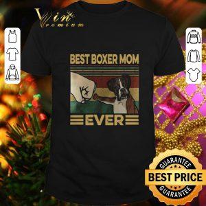 Cheap Best Boxer Mom Ever Vintage shirt