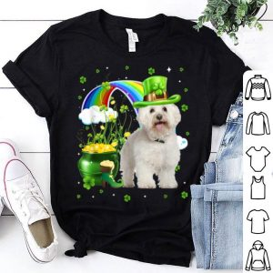 Nice Bolognese St Patricks Day Irish Shamrock Gift Dog shirt