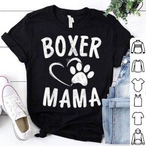 Nice Fun Boxer Mama Gift Dog Lover Apparel Pet Boxer Mom shirt