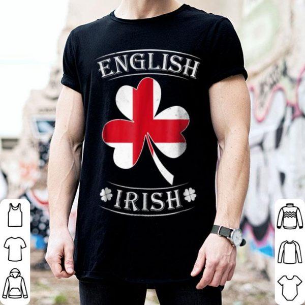 Original English Irish Flag Of England shirt
