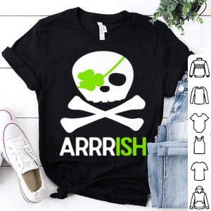 Premium St. Patricks Day Irish Pirate Skull And Cross Bones shirt