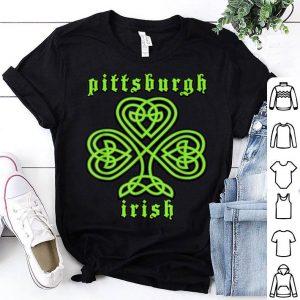 Pretty St Patricks Day Pittsburgh Irish Celtic Shamrock shirt