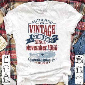Authentic Ned Vintage Established Since November 1968 Original Quality Exclusive shirt