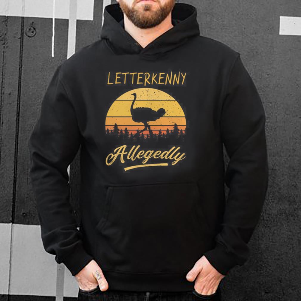 Letterkenny Allegedly Ostrich retro vintage sunset shirt 4 - Letterkenny Allegedly Ostrich retro vintage sunset shirt