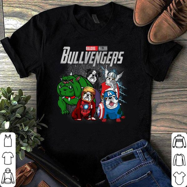 Marvel Super Heroes Bullvengers Dog version shirt