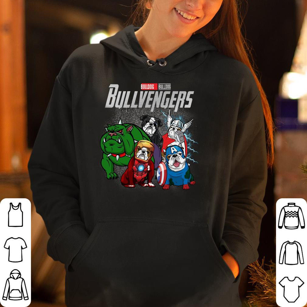 Marvel Super Heroes Bullvengers Dog version shirt 4 - Marvel Super Heroes Bullvengers Dog version shirt
