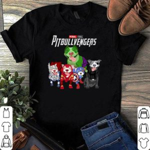 Pitbullvengers Dogs Marvel Avengers shirt