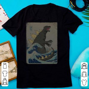 The Great Godzilla off Kanagawa shirt