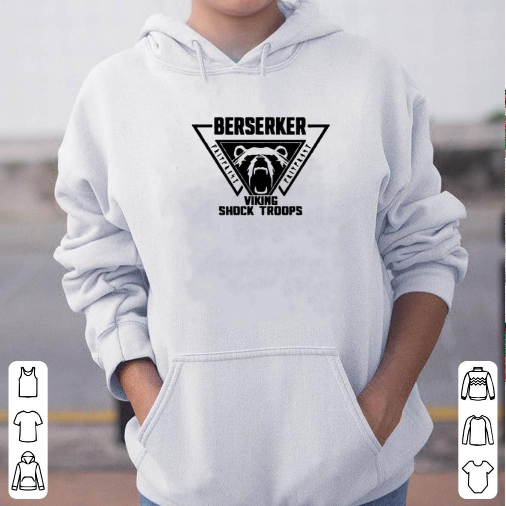 Berserker viking shock troops shirt 4 - Berserker viking shock troops shirt