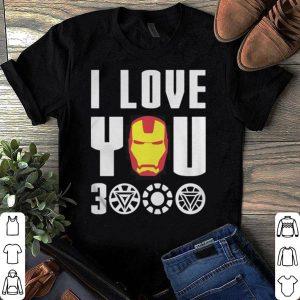 Marvel Avengers Endgame Iron Man I love you 3000 shirt