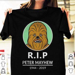 R.I.P Peter Mayhew 1944-2019 Chewbacca Star War shirt