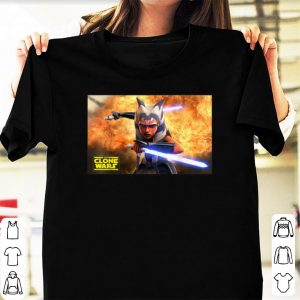 Star Wars clone wars shirt