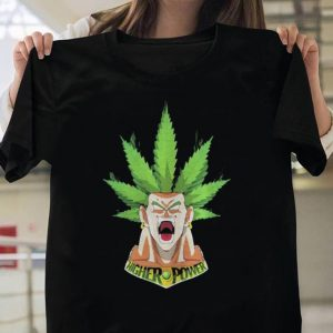 Weed Goku higher power shirt