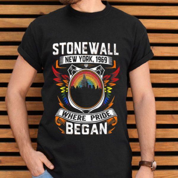 90's Style Stonewall Riots 50th NYC Gay Pride LGBTQ Rights shirt