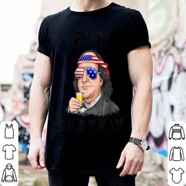 American Flag 4th Of July Benjamin Franklin shirt