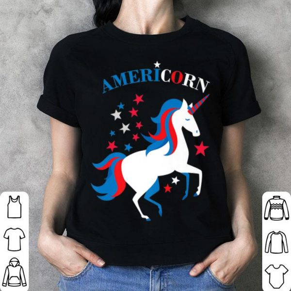 American Flag 4th of July Patriotic Americorn