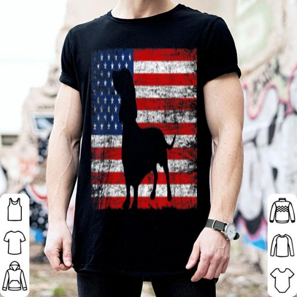 American Flag Dachshund Dog Lover 4th Of July Gift  Shirt