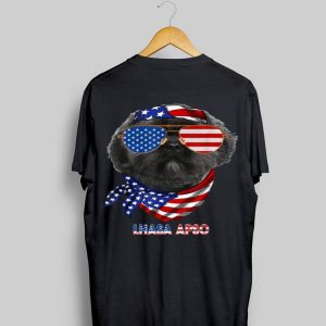 American Flag Lhasa Apso Dog Lover shirt