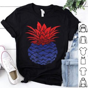 American Flag Pineapple 4th Of July Summer Vacaton shirt