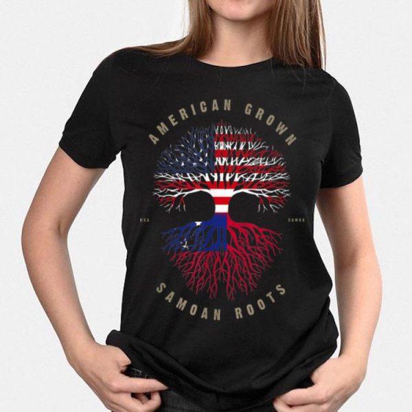 American Grown Samoan Roots Samoa shirt