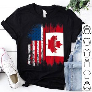 Canada Flag Canadian America Flag Shirt