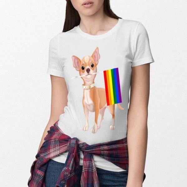 Chihuahua Lgbtq 2018 Rainbow Gay Lesbian Pride Shirt