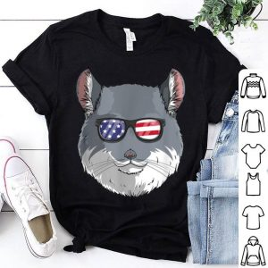 Chinchilla Patriotic Usa 4th Of July American Flag shirt