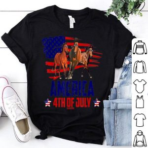 Horse Patriotic American America 4th Of July shirt