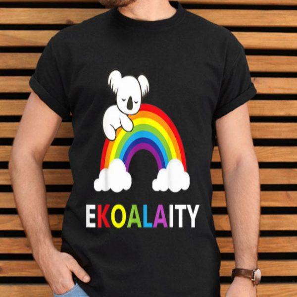 Koala Rainbow Flag NYC World Pride Ekoalaity shirt