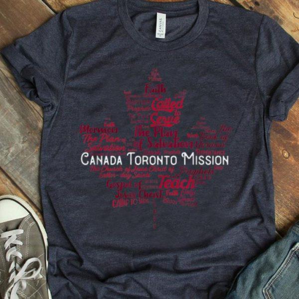 Lds Canada Toronto Mission shirt