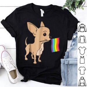 Lgbt Gay Pride Chihuahua Owner Shirt