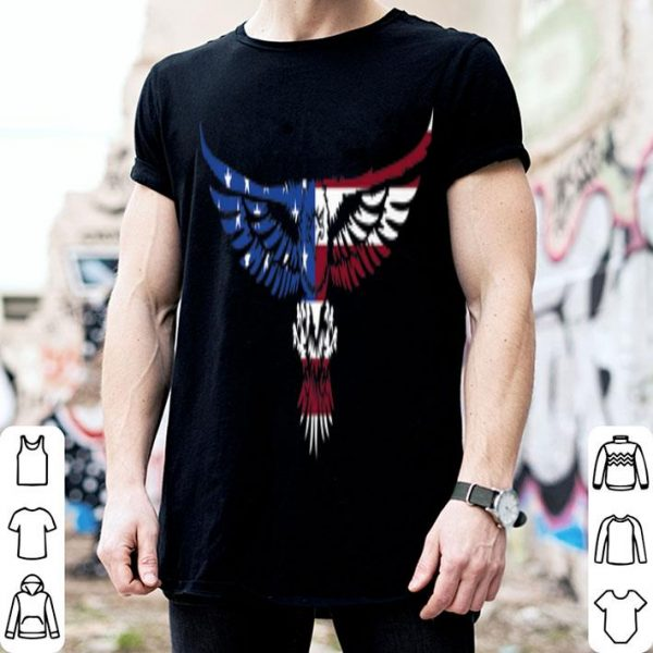 Patriotic American Flag 4th of July USA Eagle shirt
